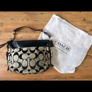 Coach black shoulder bag K1182-F12667 series